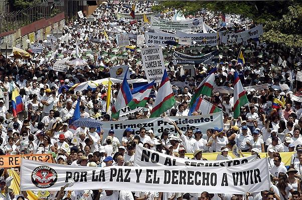 Colombia pide la liberación de los secuestrados por las FARC