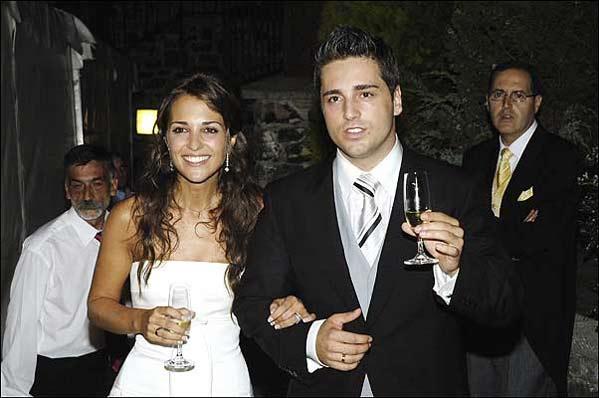 Bustamante, el día de su boda