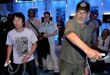 Miyamoto y Spielberg