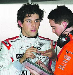 Vallés quiere pilotar con Alonso en la F-1