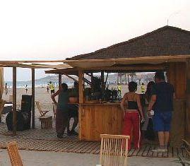 Chiringuito playa Alicante