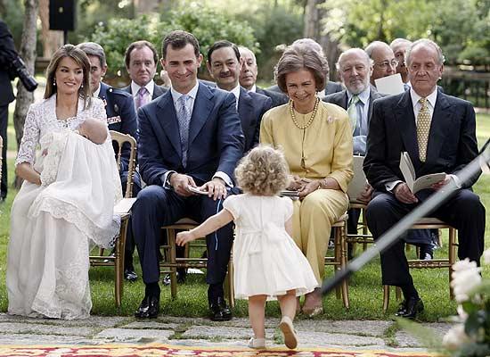 西班牙王室小公主丽奥若拉 转