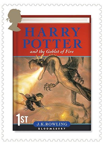 Harry Potter en los sellos postales. Harry Potter y el Cáliz de Fuego, editado en el 2000 y que recibió al año siguiente el Premio Hugo. El joven aprendiz participa en el Torneo de los Tres Magos. El Cáliz de Fuego, sin previo aviso, elige a Harry Potter como uno de los participantes del torneo.