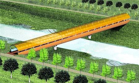 Una pasarela vigilada unirá Nazaret y el circuito de F-1