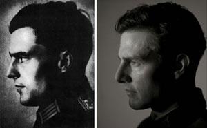 Tom Cruise vestido de nazi
