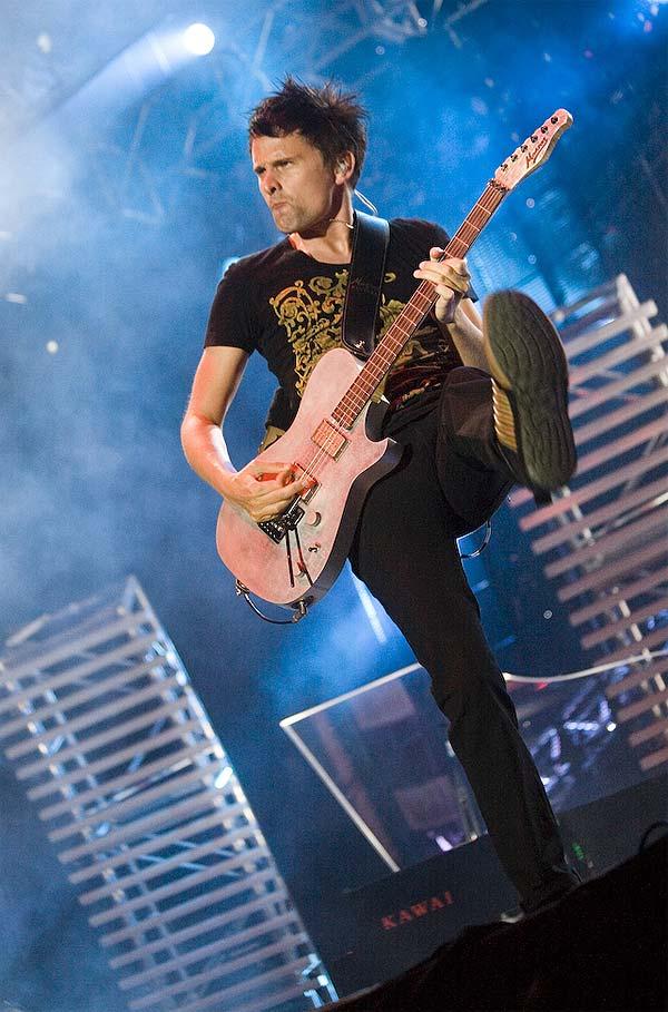 Muse en pleno concierto