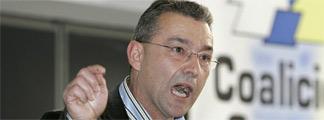 Paulino Rivero, presidente del Gobierno canario.
