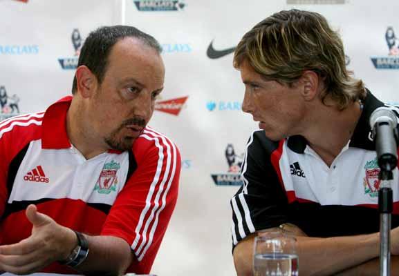 Torres y Benítez, en rueda de prensa