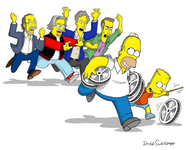 galería- Los Simpsons. La Película