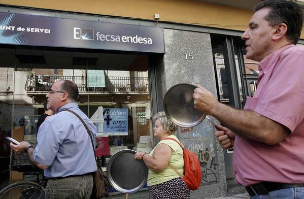 Iberdrola y endesa presentan unos beneficios de for Oficina fecsa endesa