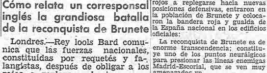 Artículo de El Progreso. (MINISTERIO DE CULTURA)