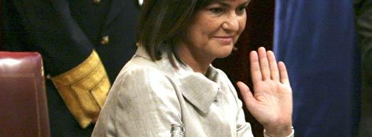 Carmen Calvo, vicepresidenta del Congreso