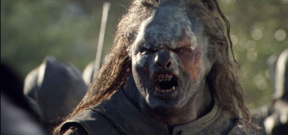 Uruk Hai de el Señor de los Anillos
