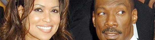 Eddie Murphy y su prometida, Tracey Edmonds