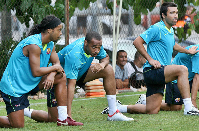 Ronaldinho y Henry