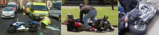 Accidentes de moto