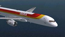 Avión Iberia 214