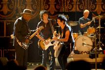 Fotograma de la película sobre los Rolling Stones, Shine a light.