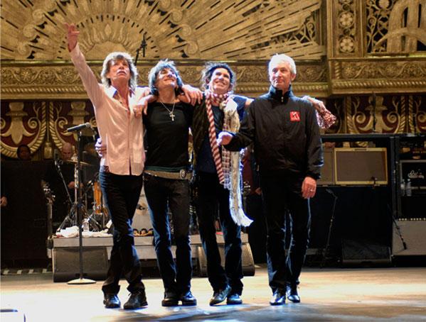 Rolling Stones, Shine a light