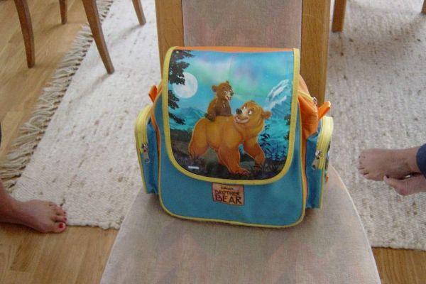 La mochila de Ylenia