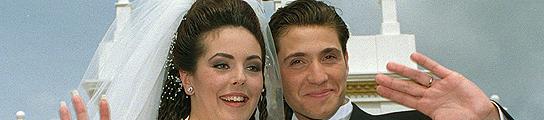 Rocio Carrasco y Antonio David Flores