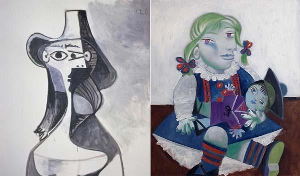 obras de picasso. girlfriend Obras de Picasso