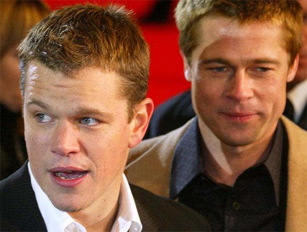 Matt Damon y Brad Pitt