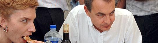Zapatero y Sonsoles Espinosa