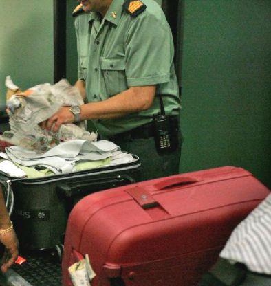 Control policial aeroportuario