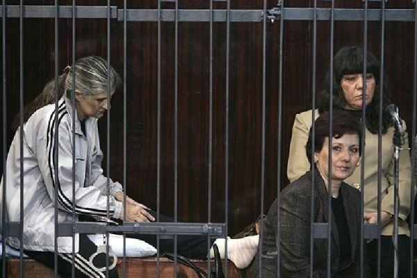 Enfermeras búlgaras  entre rejas