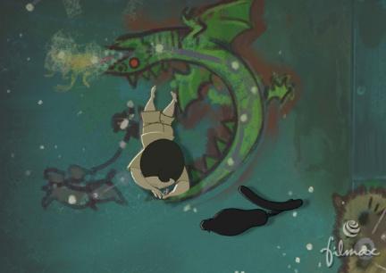 Nocturna, largometraje de dibujos animados