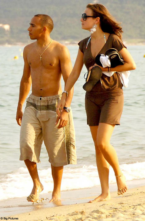 Lewis Hamilton y Sara Ojjeh