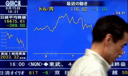 La bolsa de Japón también se desploma