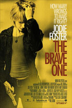 The brave one, poster