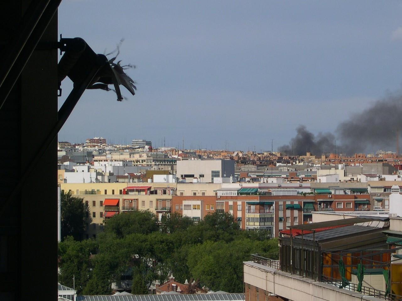 Incendio en Méndez Álvaro