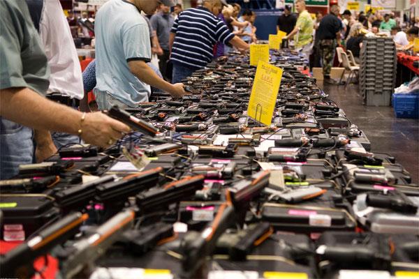 Comprando pistolas