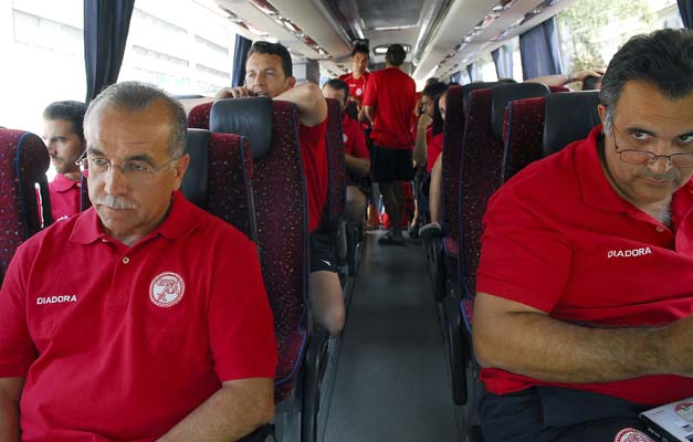 El Granada 74 en el autobús