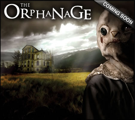 Póster estadounidense de 'El orfanato'