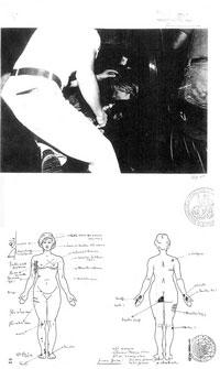 Documento incluido en el libro 'Lady Diana, la investigación criminal', por  Jean-Michel Caradec'h.