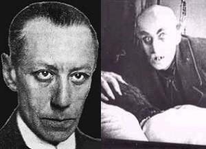 Max Schreck en 'Nosferatu'