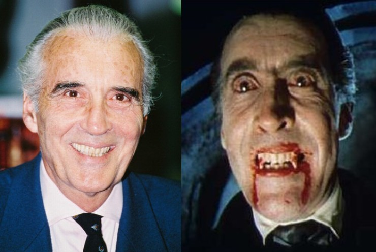 Christopher Lee en 'Drácula'