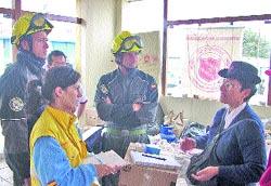 A Perú con el hospital a cuestas