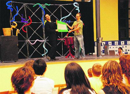 Magia y teatro: dos en uno