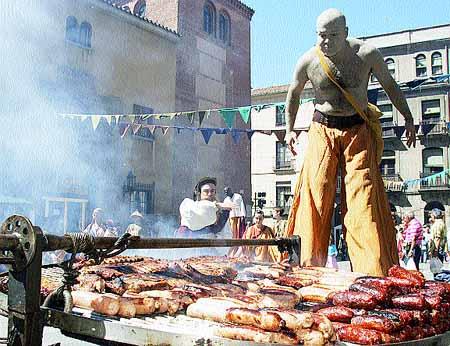 Ávila regresó al Medievo