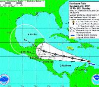 'Félix' se convierte en huracán