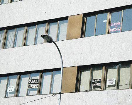 La crisis inmobiliaria hace crecer la demanda de alquileres en Vigo