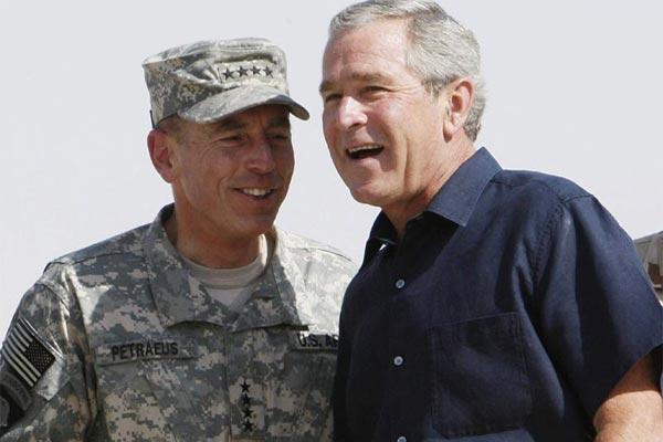George W. Bush en Irak