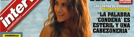 Portada Interviú Mónica Hoyos