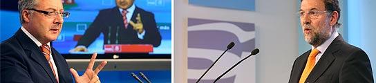 Blanco y Rajoy