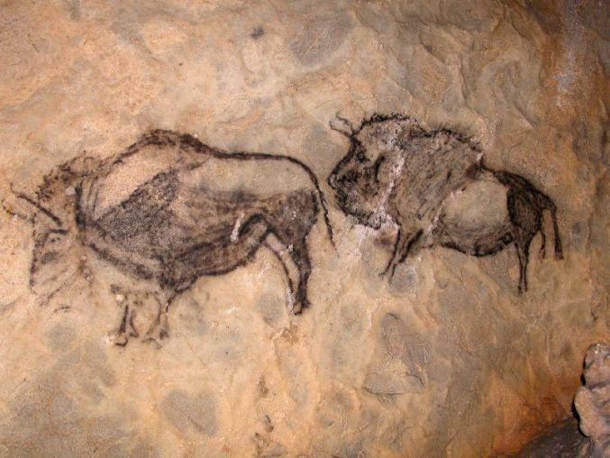 Bisontes de Santimamiñe
